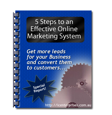 5 Steps to an Effective Online Marketing System